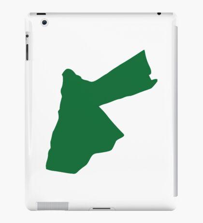 Jordan map  iPad Case/Skin