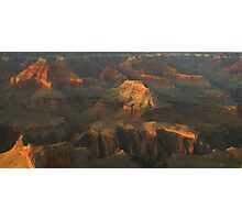 Canyon Apenglow Photographic Print