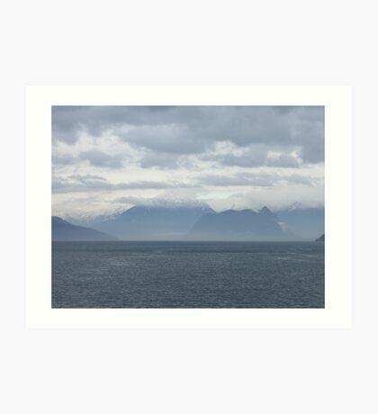 Howe Sound Art Print