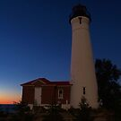 Crisp Point Lighthouse III by Megan Noble