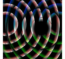 Trippe Circles Photographic Print