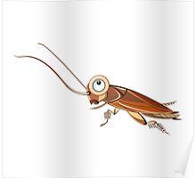 Cockroach Cartoon Character Poster