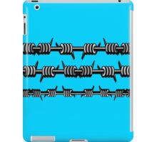 Barbed Wire 2 Design  iPad Case/Skin