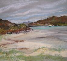 Sands of Morar, October by artyfifi