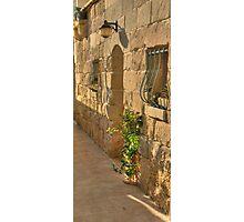 Limestone doorway Photographic Print