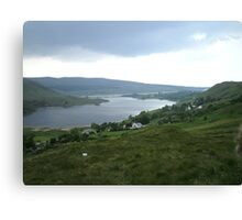 lough Altan  County Donegal Ireland Canvas Print