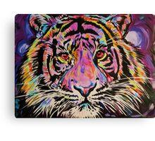 Pop Art Tiger Eyes Canvas Print