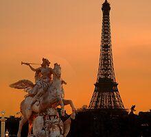 Paris by night by Radar