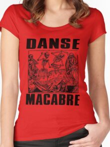 DANSE MACABRE-2 Women's Fitted Scoop T-Shirt