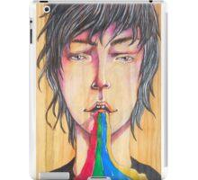 Rainbow puke iPad Case/Skin
