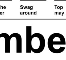 Climbeer Sticker