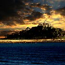 Cornish Sunset by Luci Mahon
