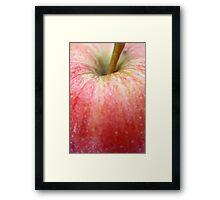 apple  Framed Print