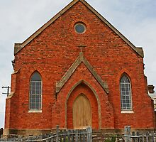 Old Abandoned Church, Hill End by Evita