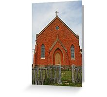 Old Abandoned Church, Hill End Greeting Card