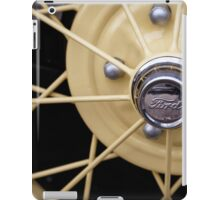 Model A Wheel iPad Case/Skin