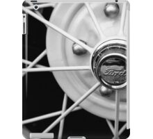 Model A Wire Wheel iPad Case/Skin