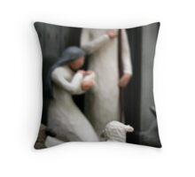 A Child is born Throw Pillow