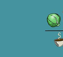 Lettuce Ketchup/Coffee by Jeff Newell