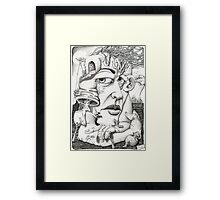 150513 Framed Print