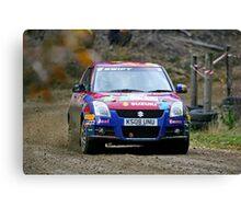 Tempest Rally Suzuki Swift Canvas Print