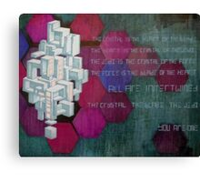 All are intertwined Canvas Print