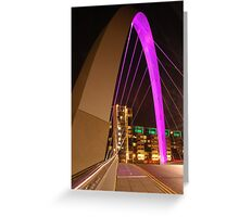 Clyde Arc in Glasgow Greeting Card