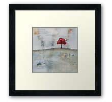 homage #1 to The Red Tree Framed Print