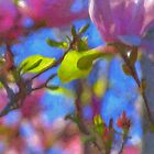 Magnolias in Oil by Daveylad
