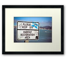 Collective Graffiti Framed Print