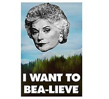 I Want to Bea-lieve Photographic Print