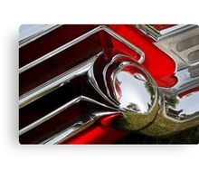 Cadillac Chrome Canvas Print