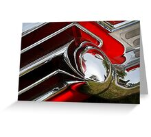 Cadillac Chrome Greeting Card
