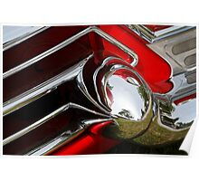 Cadillac Chrome Poster