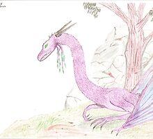 Pink Dragon by Jordan B.