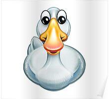 Happy Goose Cartoon Character Poster