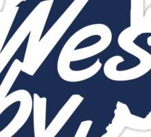 West By God Sticker