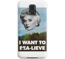 I Want to Bea-lieve Samsung Galaxy Case/Skin