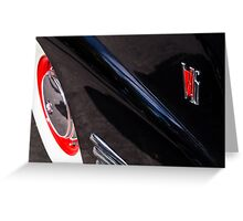 V16 Cadillac Greeting Card