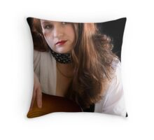 Underneath it all.... Throw Pillow