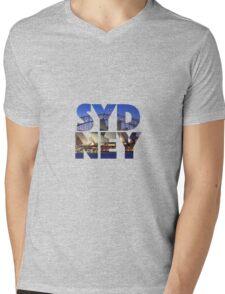Sydney Australia Mens V-Neck T-Shirt