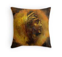 Roman Emperor Throw Pillow
