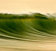 Green Wave #2 by David Orias