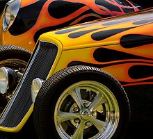 Flamin' Fords by dlhedberg