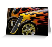 Flamin' Fords Greeting Card