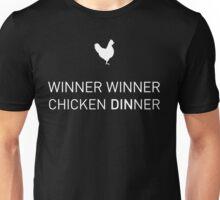 Winner Winner Chicken DIN NER  Unisex T-Shirt