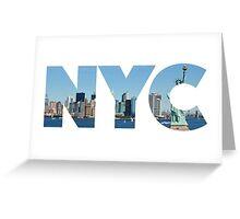 New York City - NYC - U.S.A Greeting Card