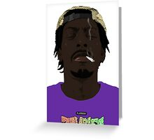 Flatbush Zombies deep thoughts Greeting Card