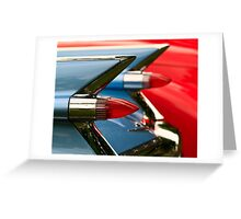 Cadillac Taillights Greeting Card