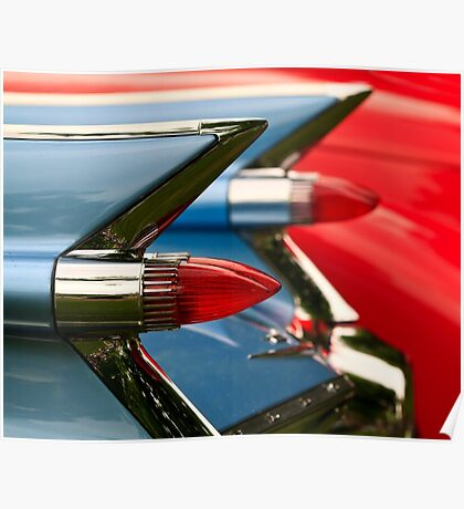 Cadillac Taillights Poster